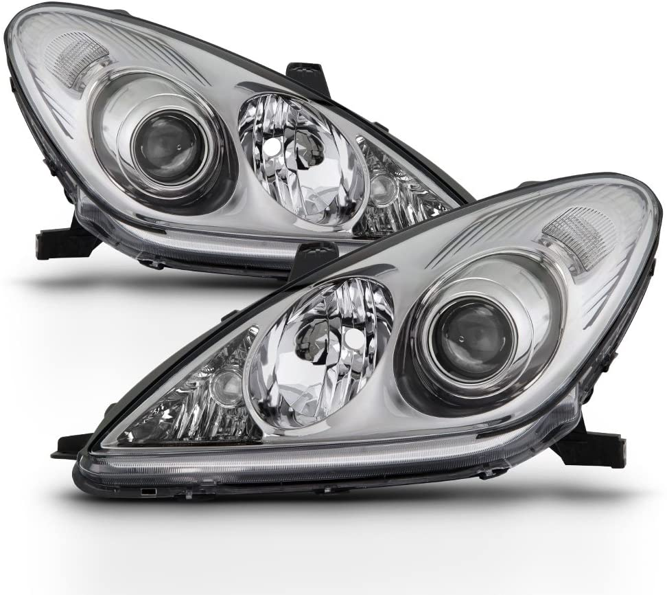 ACANII - For [Halogen Models Only] 2005-2006 Lexus ES330 Headlights Headlamps Replacement Driver + Passenger Side