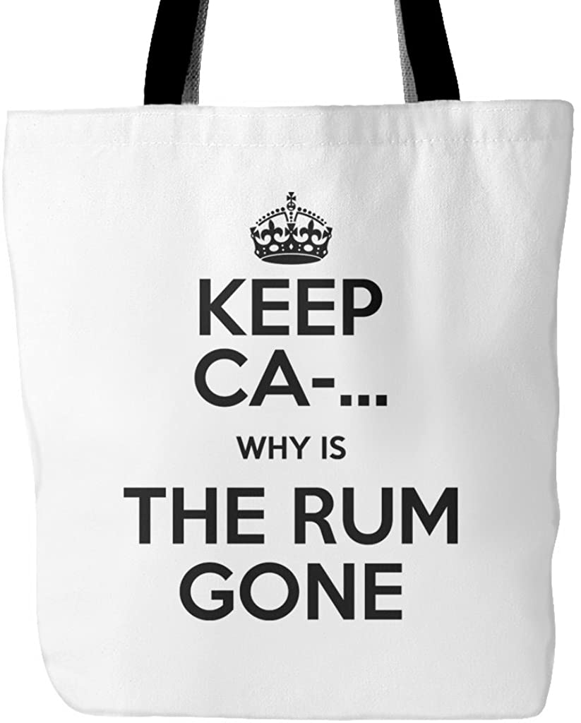"""Why Is The Rum Gone Tote Bag, 18"""" x 18"""""""