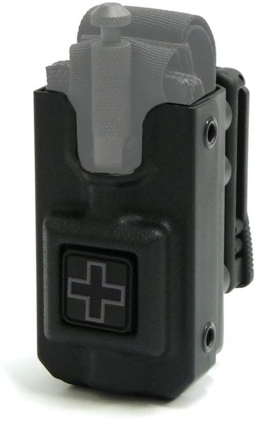 Eleven 10 RIGID SOFTT Wide Tourniquet Case, Belt (Tek-Lok) Attachment (Tourniquet Not Included)