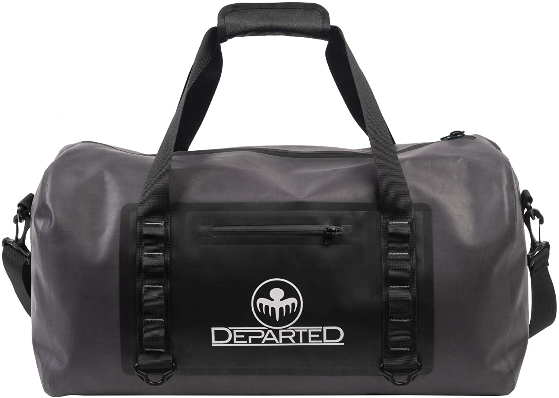 Water Resistant Duffle Bag-Zipper (Dark)