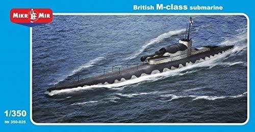 BRITISH M-CLASS SUBMARINE 1/350 MICRO-MIR 350-025