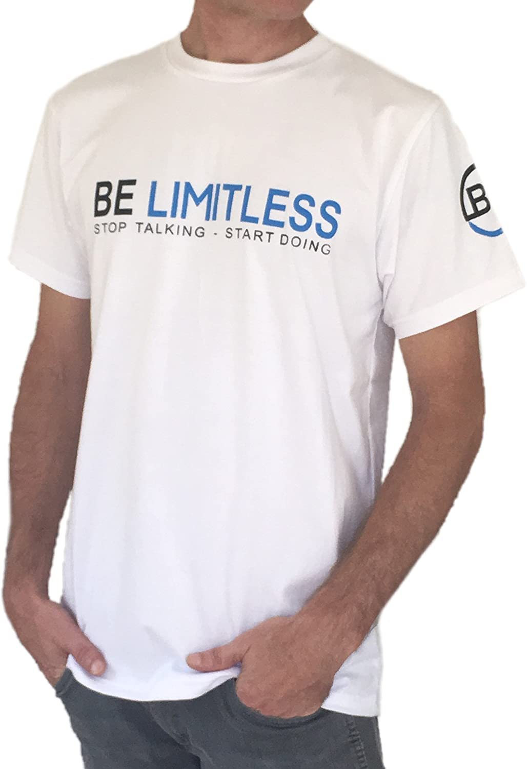 Be Limitless Mens Foundation T-Shirt (Large)