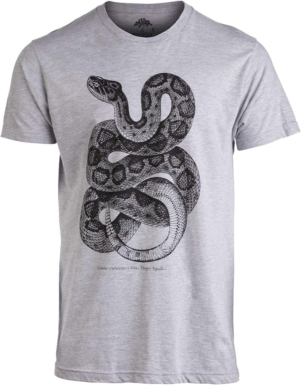 Texas Danger Noodle   Vintage Rattlesnake Biology Art Funny Snake Men Women T-Shirt