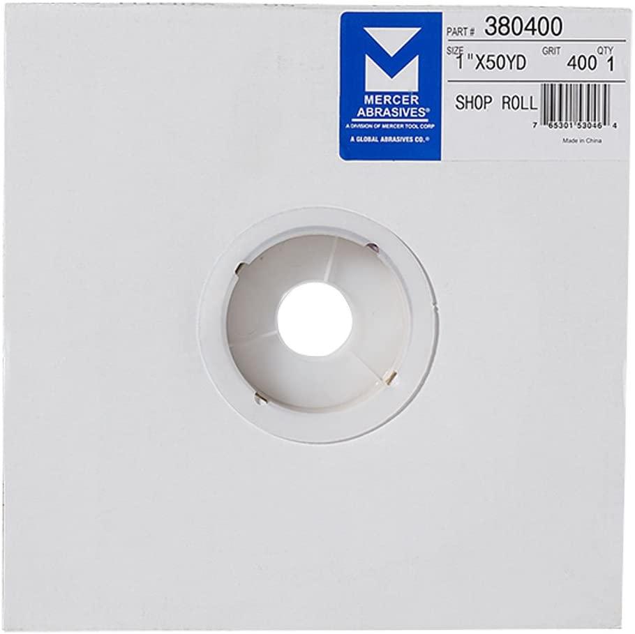 Mercer Industries 380400 400 Grit Shop Roll, 1