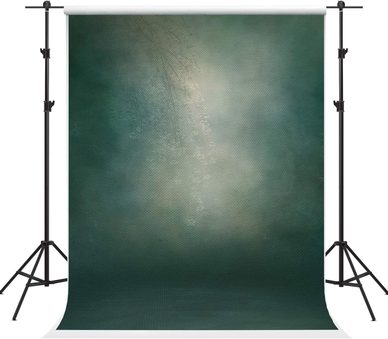 Kate 5×7ft Dark Green Grey Abstract Photography Backdrop Texture Microfiber Old Backdrop Professional Head Shot Portrait Fabric Photo Studio Props