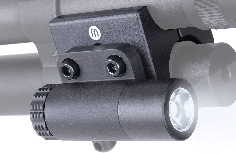 Monstrum F51 100 Lumens Flashlight for Shotguns   Includes Universal Barrel Mount and Detachable Remote Pressure Switch
