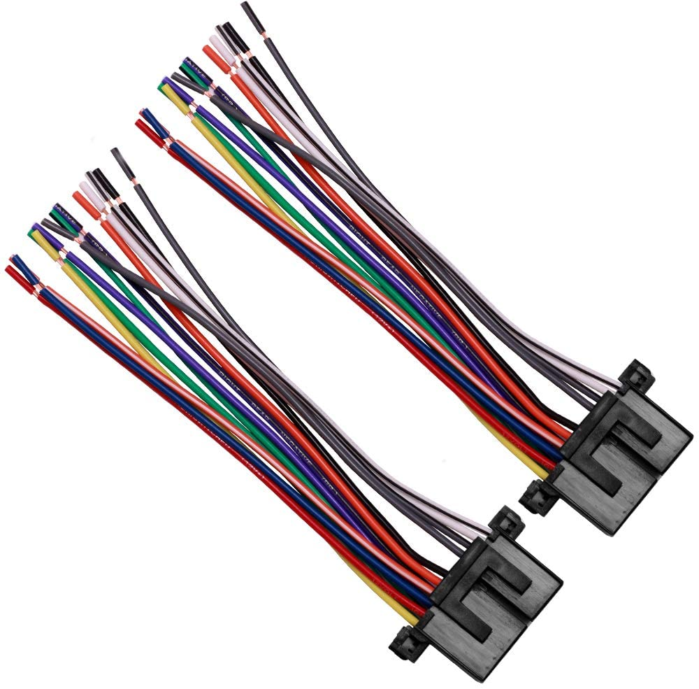 Audio Car Stereo Radio Wire Harness Compatible with Buick Cadillac