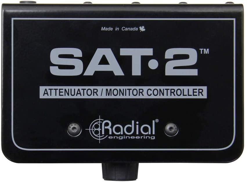 Radial SAT-2 Stereo Audio Attenuator Monitor Controller