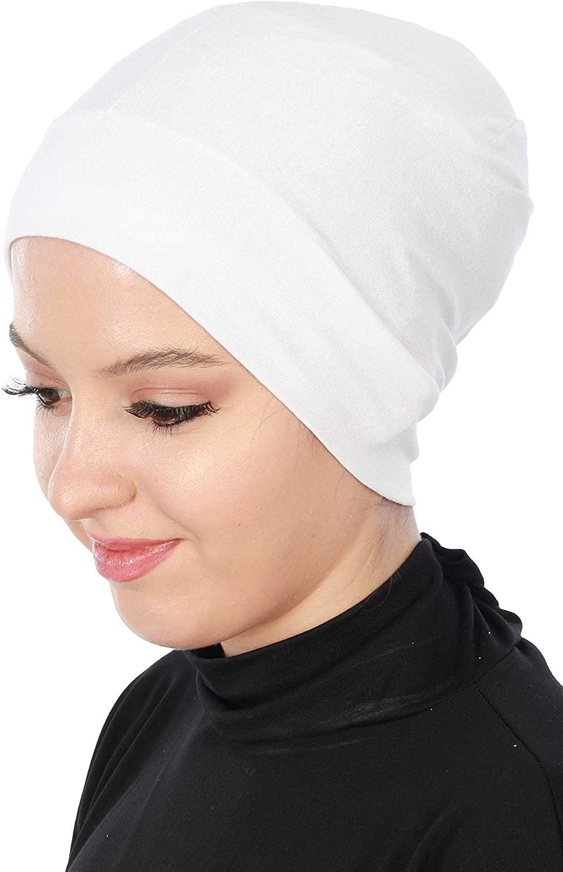 Instant Turban Cotton Head Wrap Lightweight Chemo Headwear Cancer Cap
