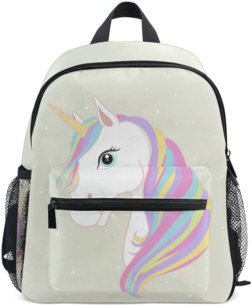 Forest Animal Backpack for Kids Girls Boy Bookbag Daypack with Chest Strap Mini