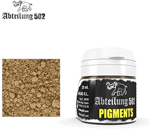 Abteilung502 ABTP037 Gulf War Sand Pigment - 20 ml / 0.67 Fl.Oz Jar
