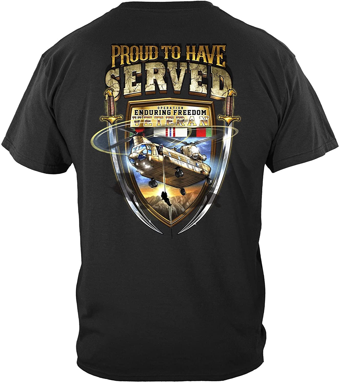 Erazor Bits Enduring Freedom Vetran T Shirt MM2346
