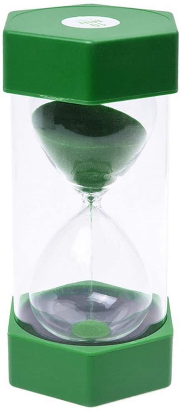 Hourglass Timer Kids Sandglass Timer Sand Clock 10 Minutes Time Manager Home Decoration