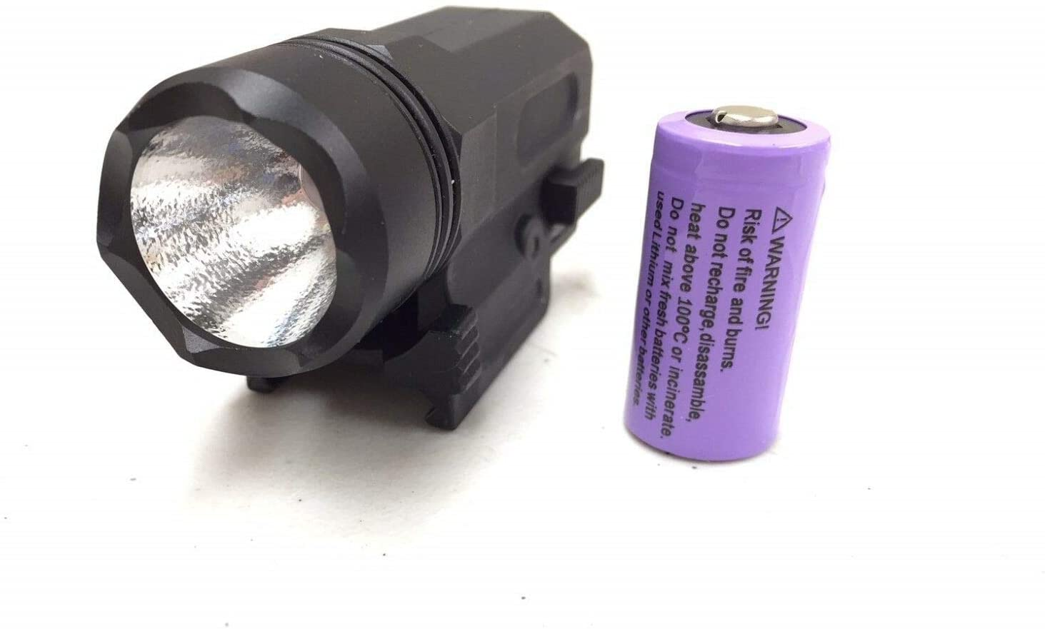 GOTICAL Quick Release Compact 200 Lumen Flashlight w/Battery Included
