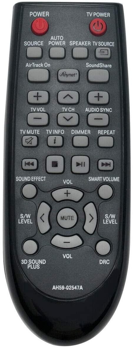 NKF AH59-02547A Replace Remote for Samsung Soundbar HW-FM45C HW-FM45 HWFM45C HWFM45