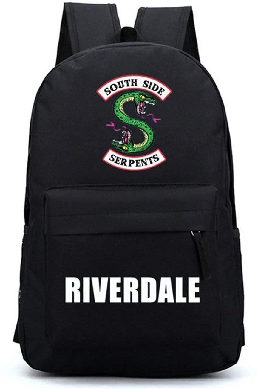 Man Woman Riverdale Laptop Backpack Waterproof Riverdale Canvas School Travel Outdoor Office