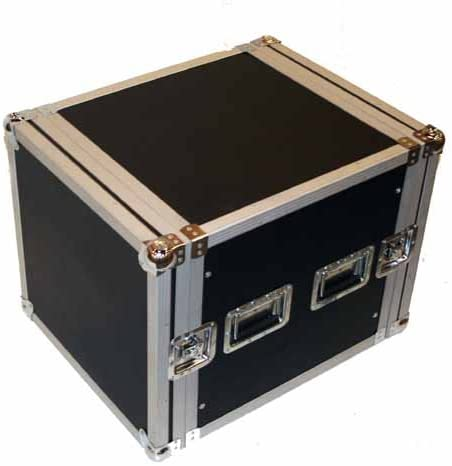 Seismic Audio - 10 SPACE RACK CASE for Amp Effect Mixer PA/DJ PRO Audio
