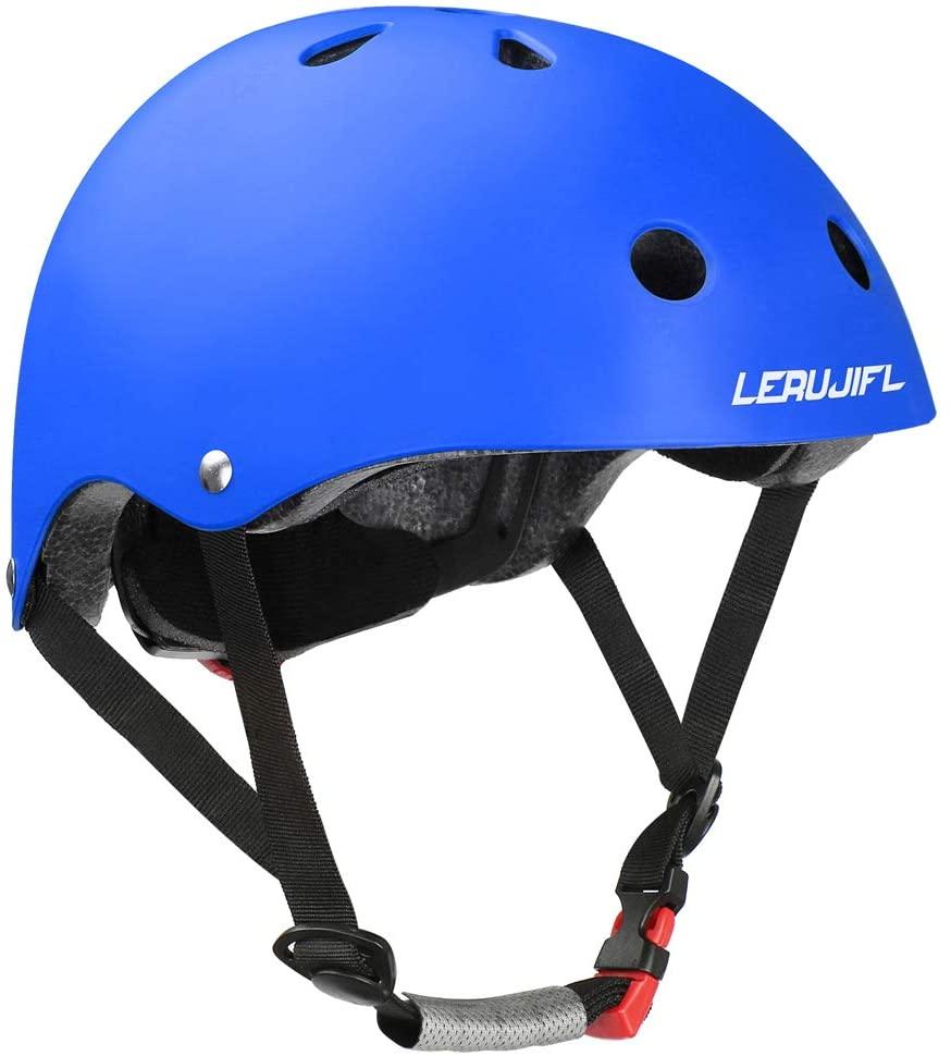 LERUJIFL Kids Bike Helmet, CPSC Certified, Adjustable and Multi-Sport, Suitable for Toddler Kids Age 3-8 Boys Girls