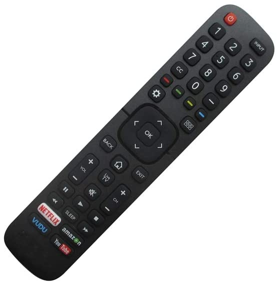 HCDZ Replacement Remote Control for Sharp LC-50N7000U LC-75N620CU LC-60N6200U N2A27ST LC-32P5000U LC-40P5000U LC-40P3000U AQUOS Smart Plasma LCD LED HDTV TV