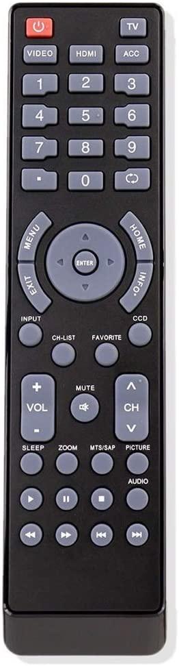 RJMom New NS-RC03A-13 Remote Control for Insignia LCD LED TV NS-32L120A13 NS-39E480A13