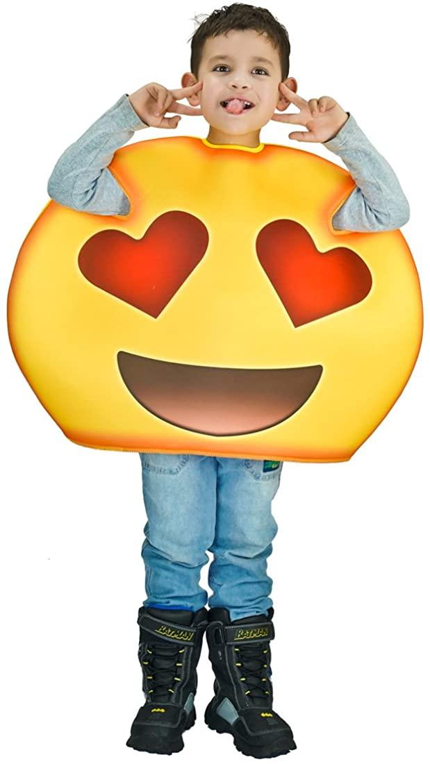 flatwhite Children Unisex Emoticon Costumes One Size