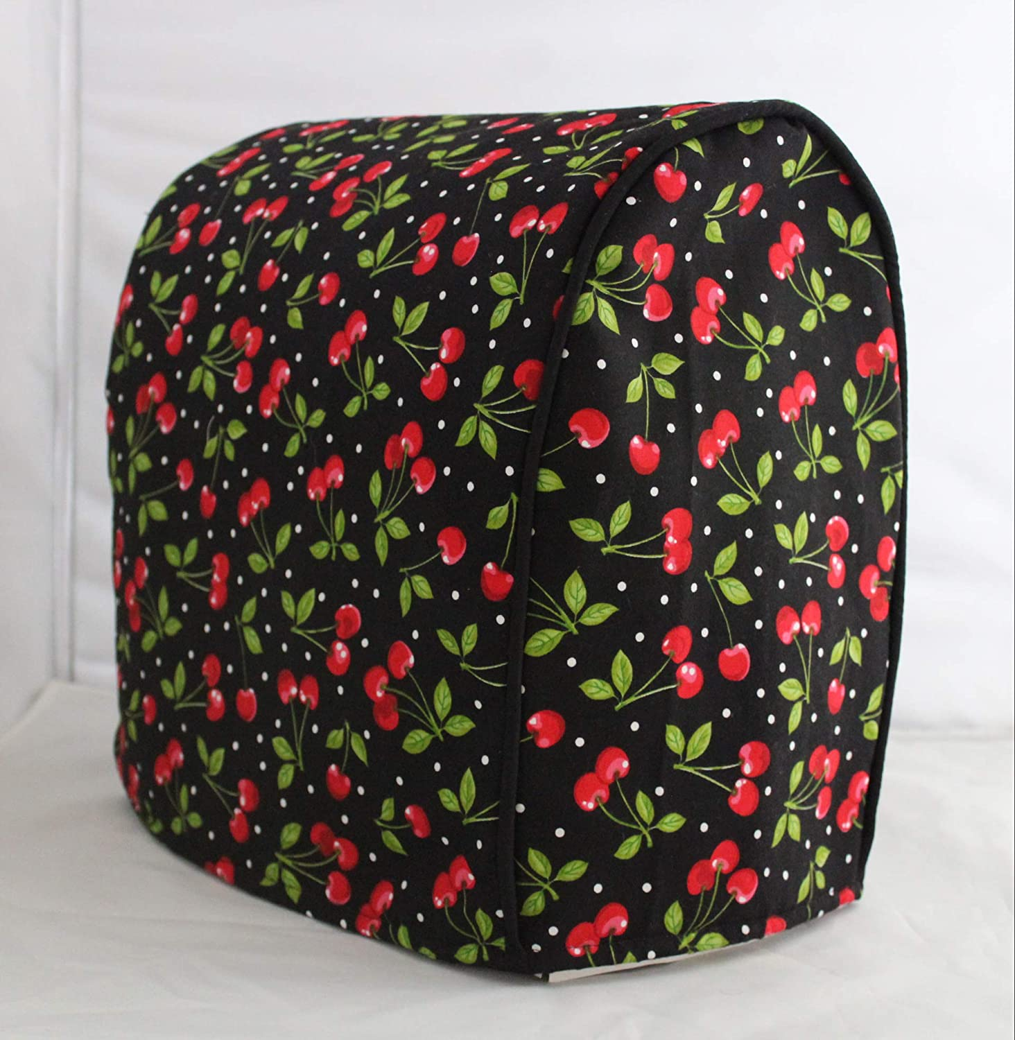 Simple Home Inspirations Premium Cotton Cover Compatible with Sunbeam Mixmaster (Cherries Jubilee)