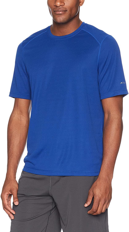 Terramar Helix Lightweight Breathable Crew Neck T-Shirt (Pack of 1)