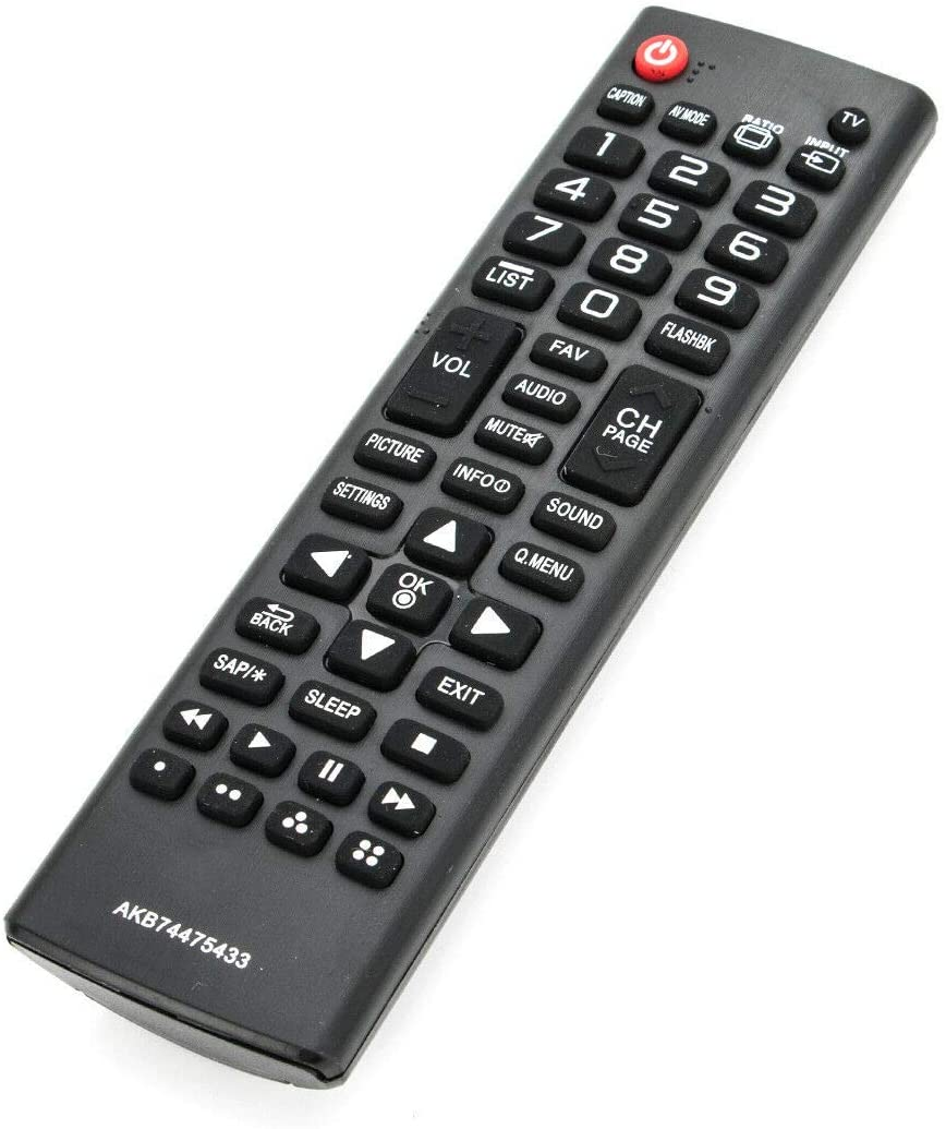 NKF New Remote AKB74475433 for LG TV AKB74475455 42LF5600 50LF6000 65UF6700 49UF6700