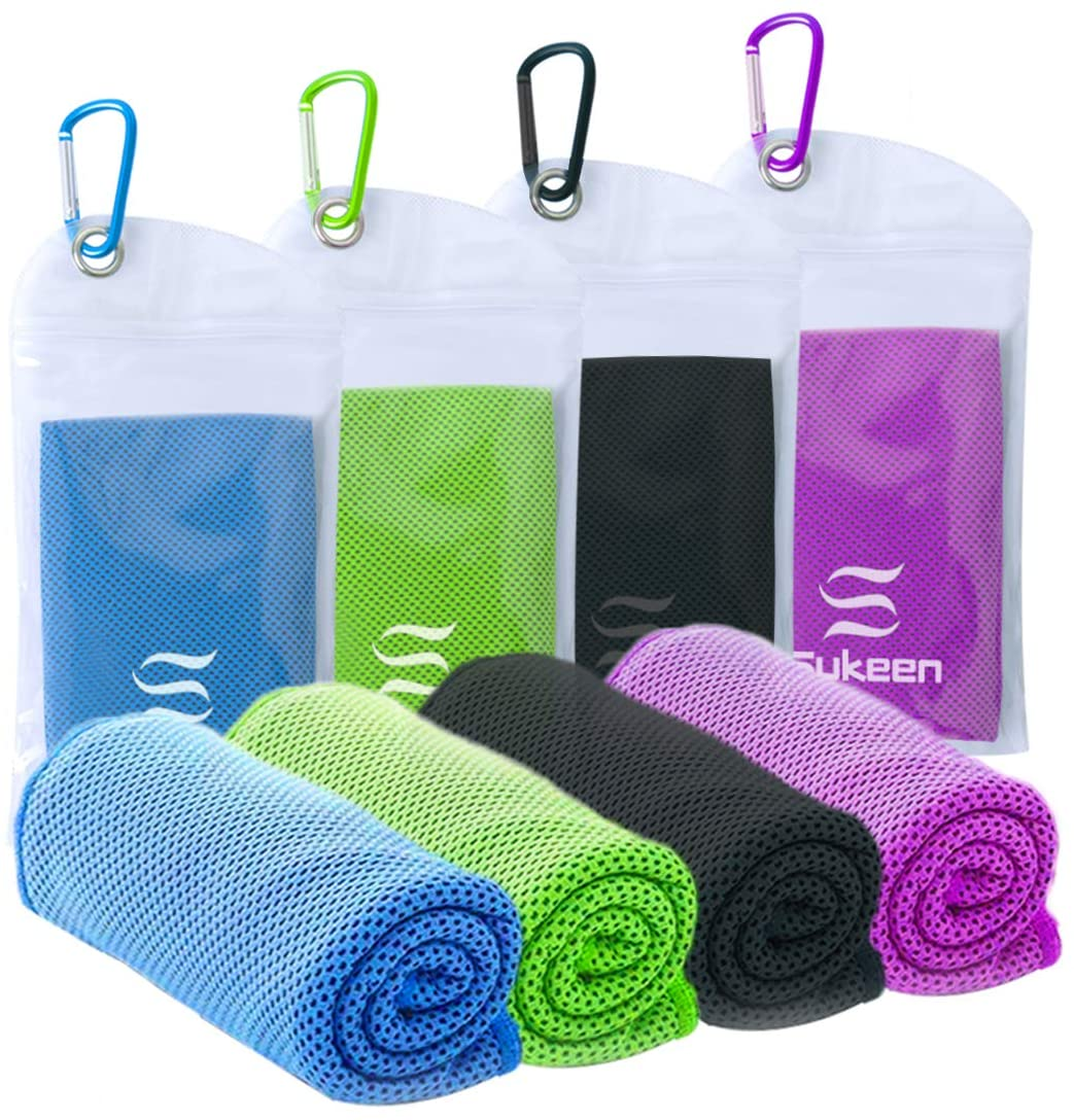 Sukeen [4 Pack] Cooling Towel (40