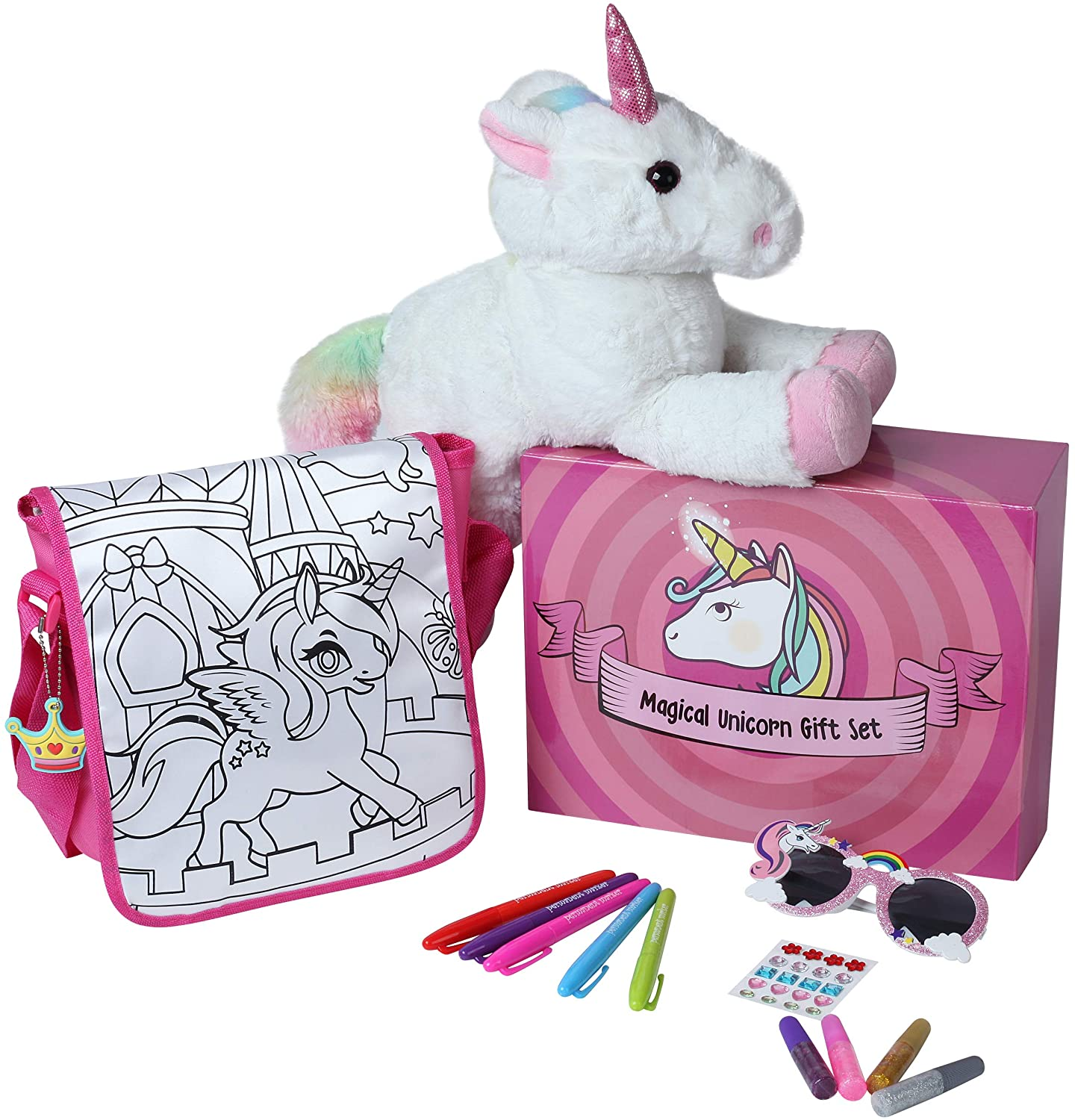 Magical Unicorn Gift Set with 15