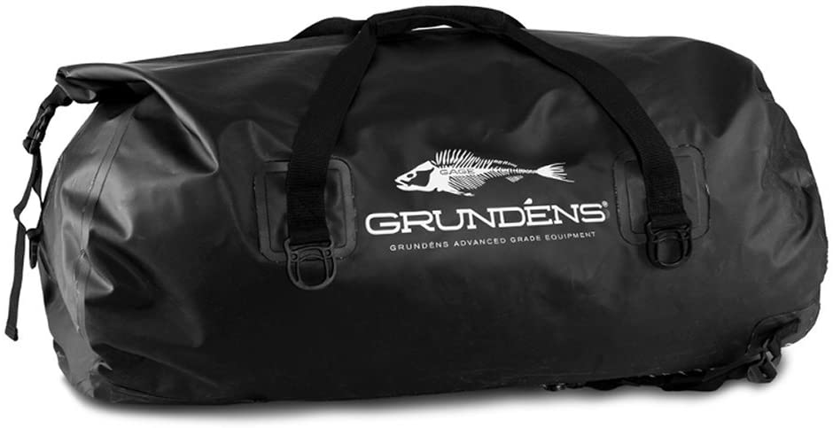 Grundéns 105 Liter Shackelton Duffel Bag, Black - One Size