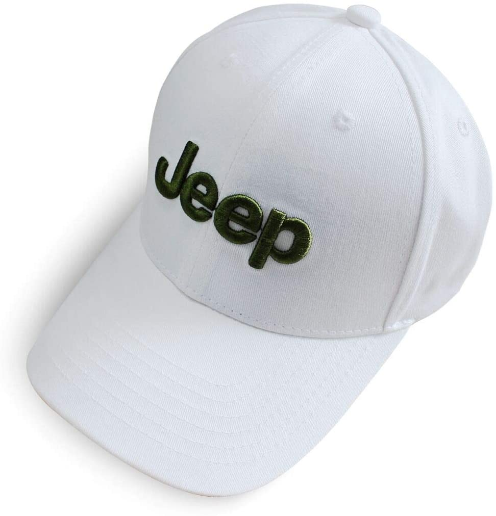 Wall Stickz BearFire Logo Embroidered White Color Adjustable Baseball Caps for Men and Women Hat Travel Cap Racing Motor Hat Fit JEE Accessories