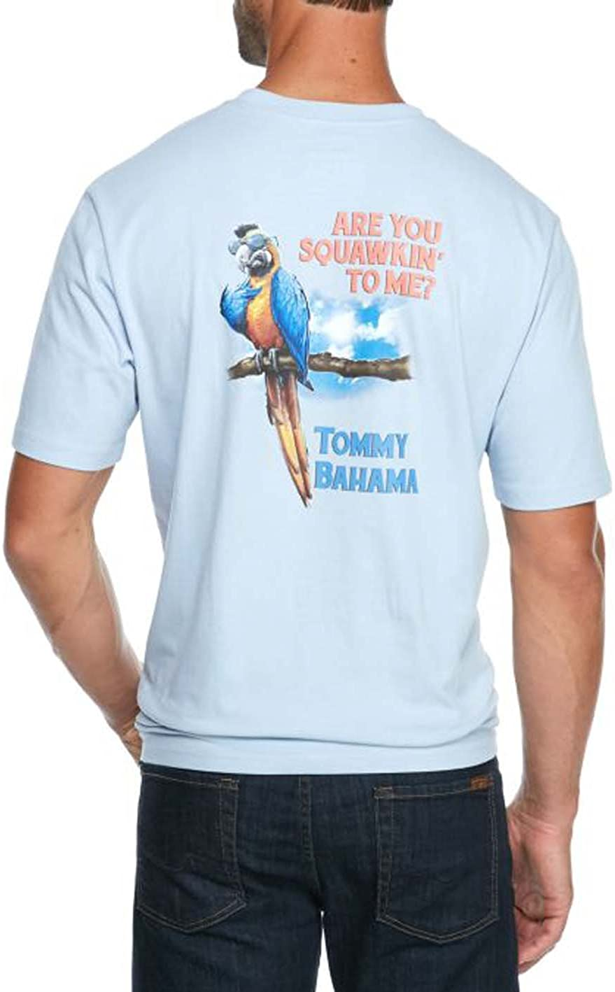Tommy Bahama Are You Squawkin To Me X-Small Fresh Air T-Shirt