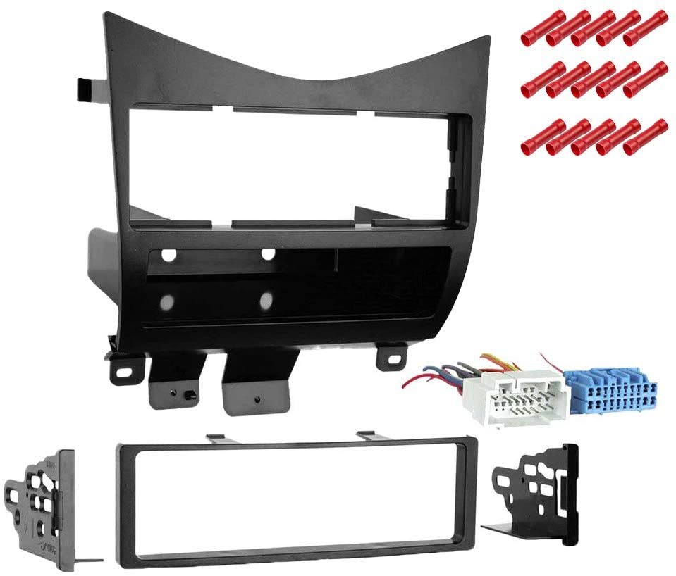 CACHÉ KIT2718 Bundle with Car Stereo Installation Kit for 2003 – 2007 Honda Accord – in Dash Mounting Kit for Single Din Radio Receivers (2 Item)