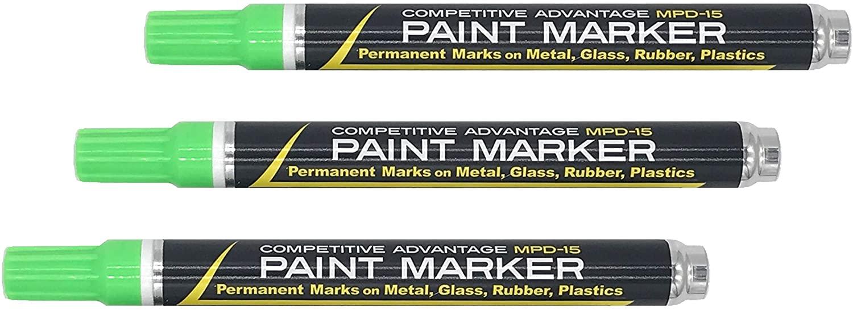 Competitive Advantage Enamel Paint Marker MPD-15 (Light Green, 3)