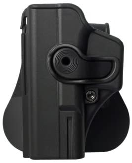 Polymer Retention Roto Holster Fits Glock 19 and compatible with Glock 23 and Glock 32. (Left Hand)