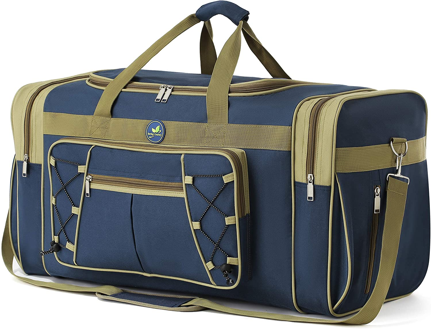 Travel Duffle Bags for Men Weekender Over Night Carry On BagLightweight Extra Large Oxford Duffel Gym Sturdy LuggageWater-prooffor Men & Women 26