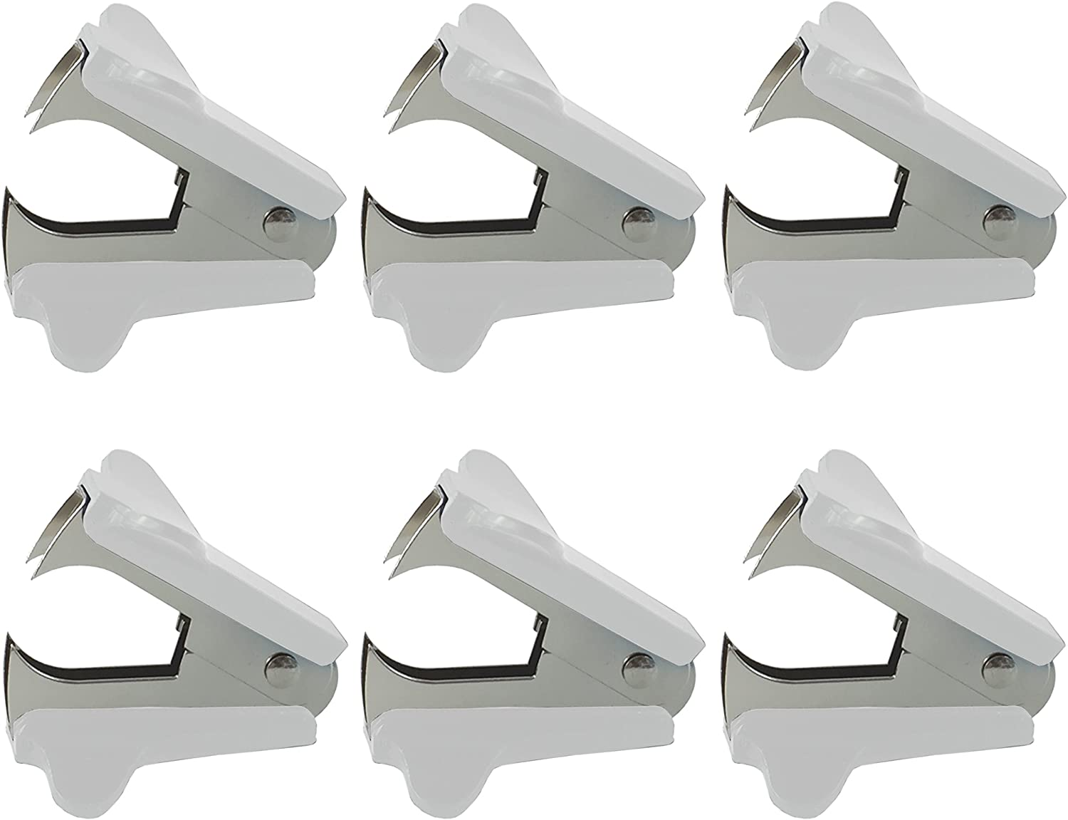 Clipco Staple Remover (6-Pack) (White)