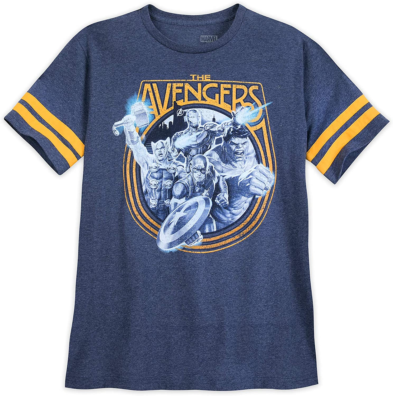 Marvel The Avengers Football T-Shirt for Men Multi