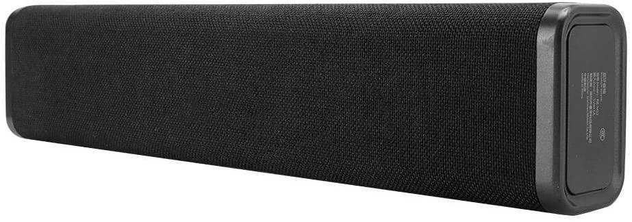 CiCiglow Bluetooth Soundbars, Mini Wireless Bluetooth Speaker with 5W 2 Stereo Sound Channel Support AUX/USB Portable Soundbars Speaker for PC, Laptop, Tablet, Smartphone, TV, etc.(Black)