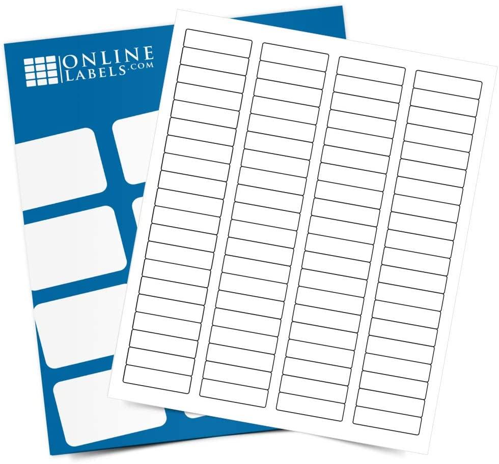 Address Labels - 1.75 x 0.5 - Pack of 8,000 Labels, 100 Sheets - Inkjet/Laser Printer - Online Labels
