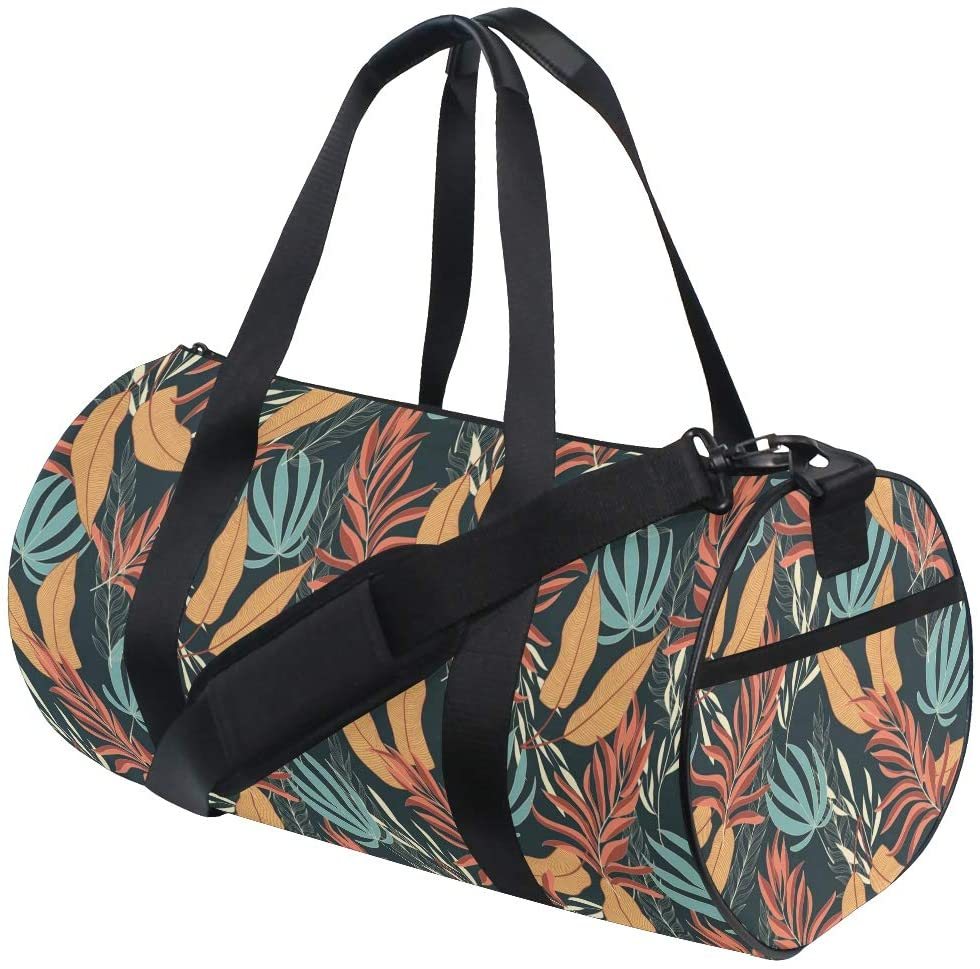 Summer Tropical Travel Duffle Bag Sports Luggage with Backpack Tote Gym Bag for Man and Women 2030018