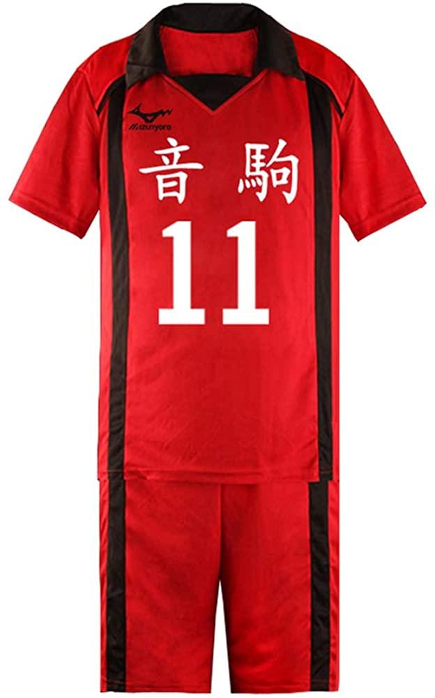 Xiao Maomi Adult Haikyuu Nekoma Kozume Kenma Cosplay Kuroo Tetsurou Costume Volleyball Uniform Shirts Shorts