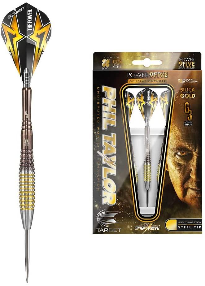Target Darts - Phil Taylor Power 9Five Generation 3 Steel Tip Darts