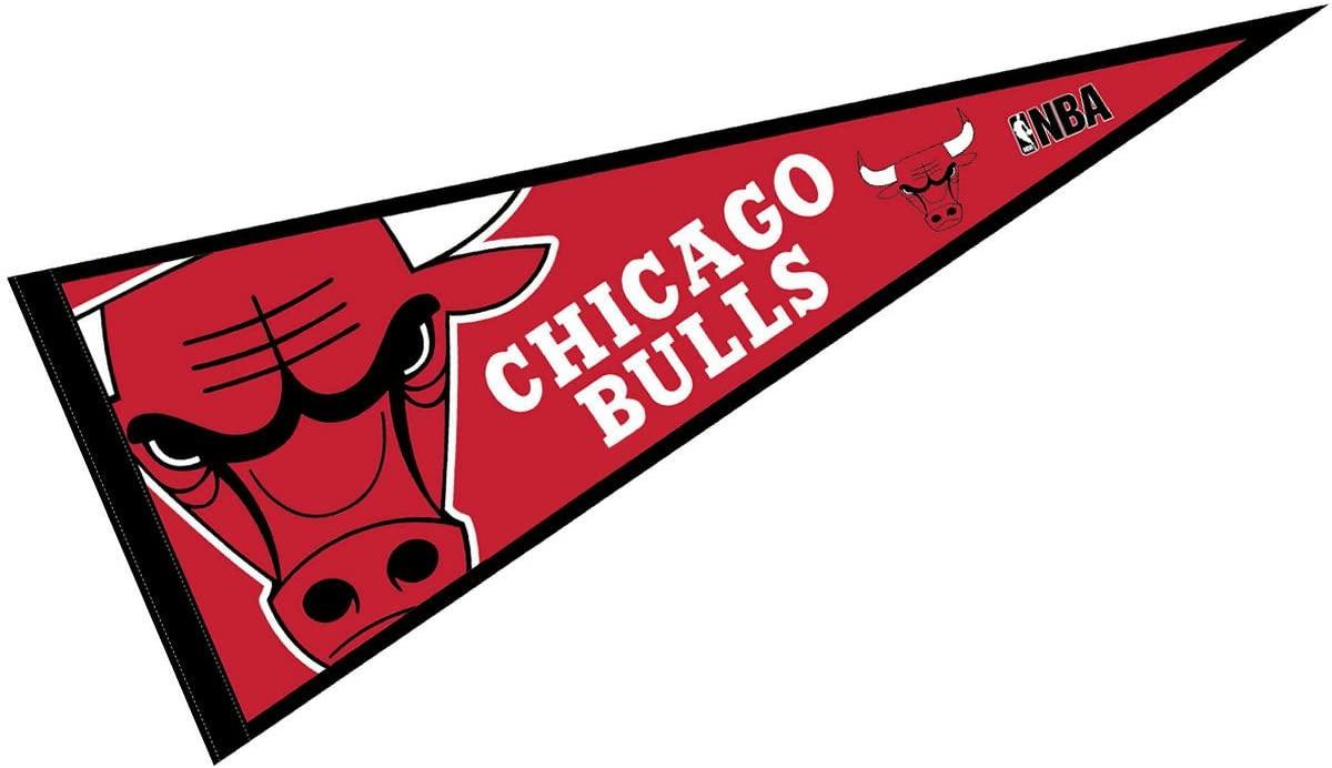 WinCraft Chicago Bulls Pennant Full Size 12 X 30