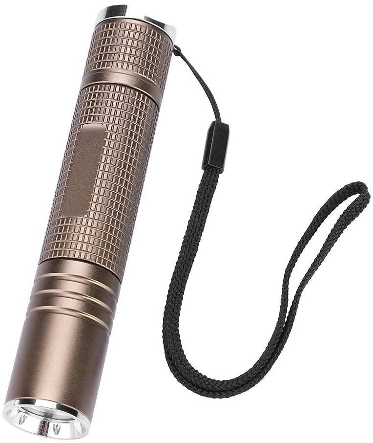 LED Flashlight B4 Mini Torch Super Bright Flashlight IPX65 waterproof 5 Modes for Camping, Hiking, cycling, Emergency