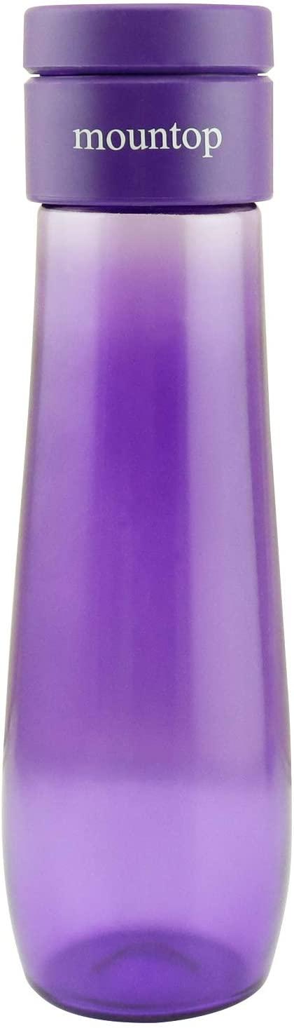 mountop Smart Water Bottle with Reminder, Tracking Water Intake, Leak-Proof and BPA-Free 500ml/17oz