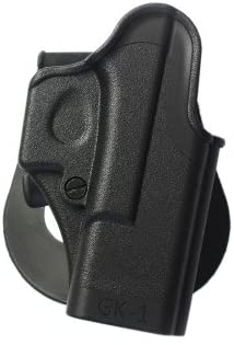 NEW BLACK IMI-8010 One Piece Holster for Glock 23/25/26 Pistols Gen 4 Compatible - FREE BONUS - New Traveling Kit