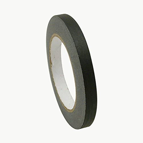 J.V. Converting JV497/BLK0560 JVCC JV497 Black Masking Tape: 1/2
