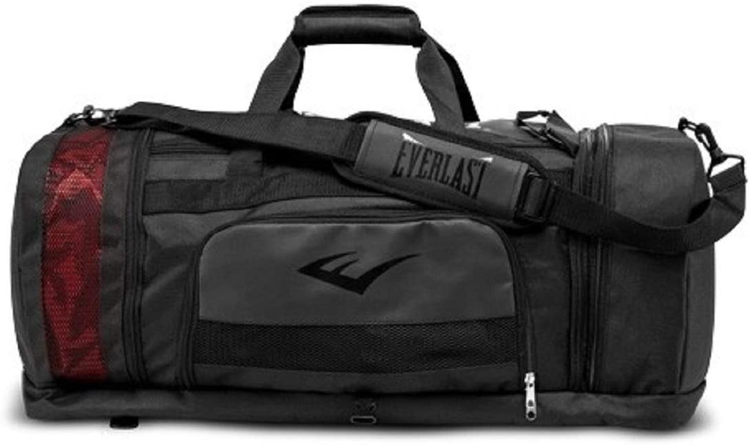 Everlast P00001578 Contender Duffle Bag Black Each